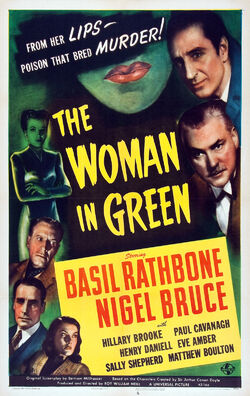 Woman in green