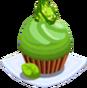 Oven-Peridot Cupcake plate