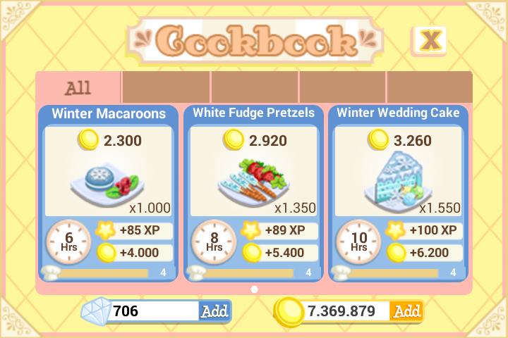 Winter Wedding Oven recipes ok