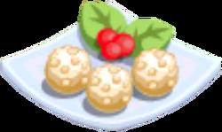 Truffle Maker-White Truffle plate