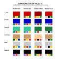 Bakugan Color Palette