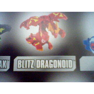 Blitz Dragonoid jako zabawka