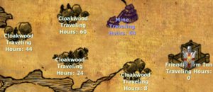 Cloakwood connections