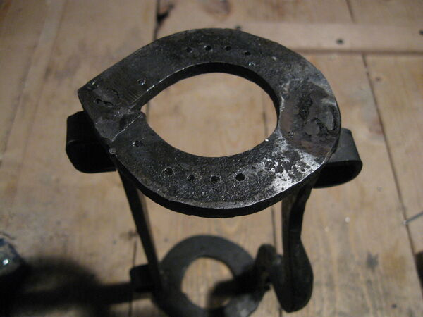 Drilling field-frame ring holes - 05