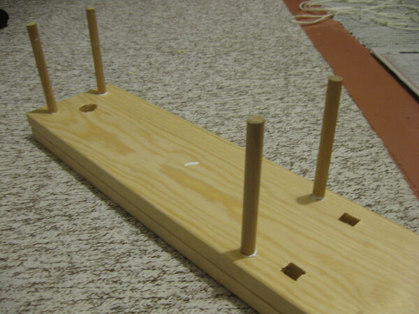 Making the stretcher - 05
