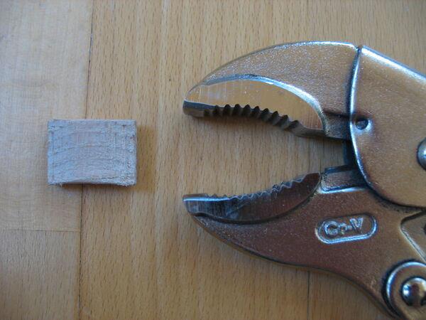 Modifying locking pliers for clip usage - 03