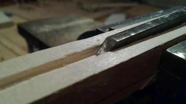 Rectangular groove chisel - 02