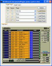 VST DirectX Instruments Plugins Dlg