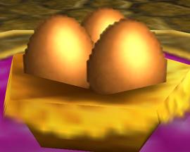 Golden Egg Nest