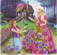 Barbie & The Diamond Castle Book Scan 6