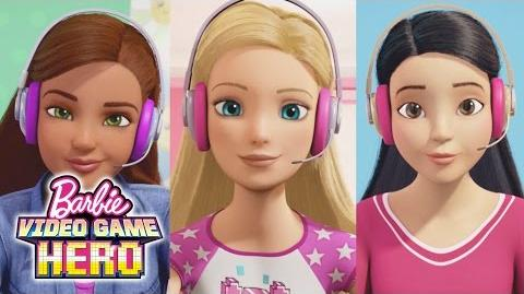 Are We Llamas? - Barbie Video Game Hero Clip-1