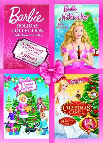 Image - Barbie Holiday Collection DVDs in the Nutcracker A Perfect ...