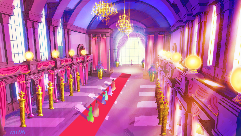Coloring pages barbie princess charm school - File Barbie Princess Charm School Concept Art 5 Jpg