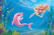 Book Illustration of Mermaid Tale 2