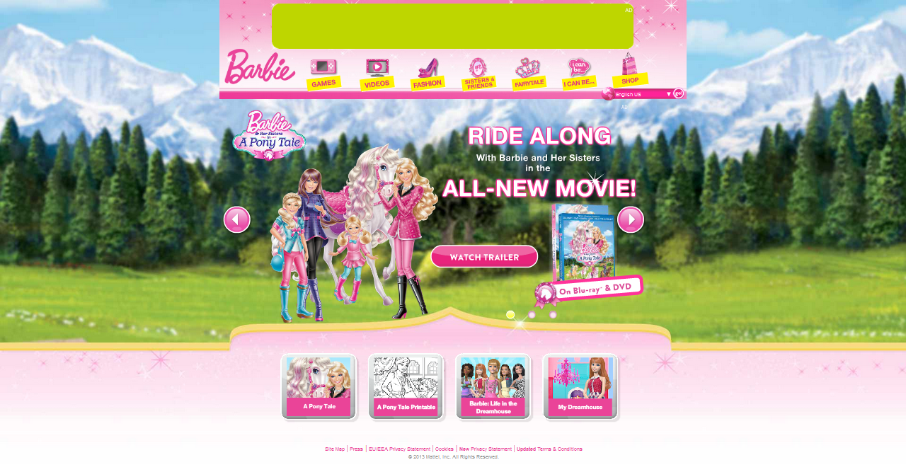 games of barbie life in the dreamhouse