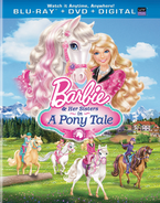 Barbie & Her Sisters in A Pony Tale Blu-Ray Combo Pack