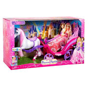 Barbie The Princess and The Popstar ToysRUs Royal Horse and Carriage Gift Set