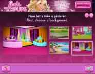 Barbie Groom and Glam Pups Browser Game Background 4