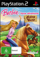 Barbie Horse Adventures Riding Camp AU PlayStation 2 Cover