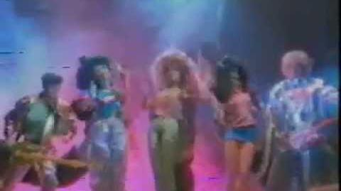 Barbie & The Rockers Commercial
