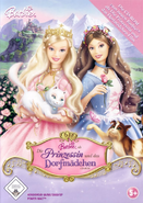Barbie as the Princess and the Pauper Video Game German PC Cover Front