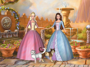 Barbie as the Princess and the Pauper Video Game Screenshot 3