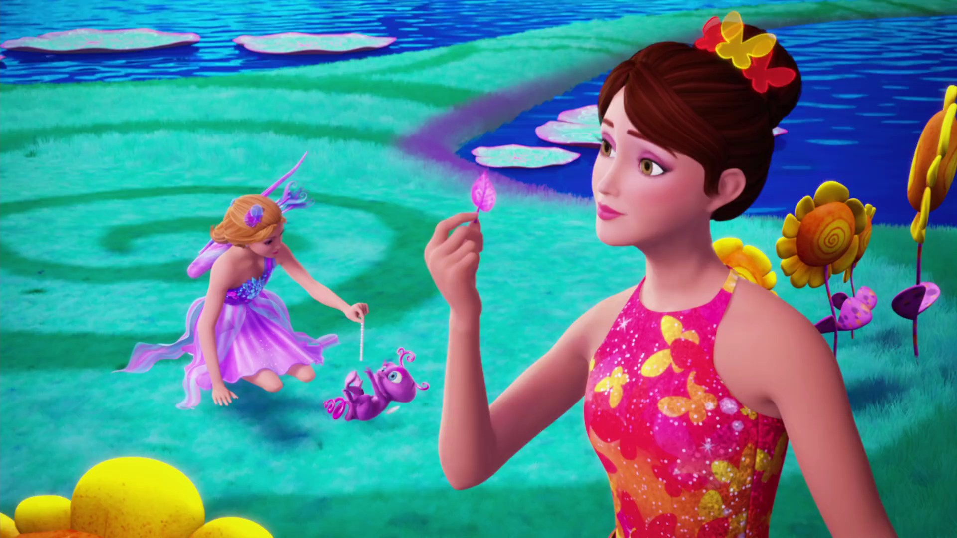 Feuilles puantes barbiep dia fandom powered by wikia - Barbie et la porte secrete film complet ...