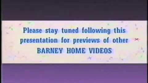 Barney & Friends Bumpers