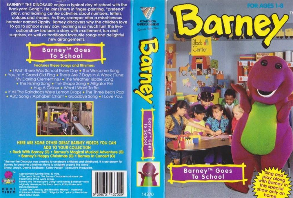 Image Barney Gos To School AUSjpg Barney Wiki FANDOM - Concert barney wiki