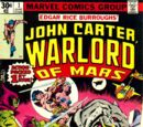 Warlord of Mars (Marvel) : Issue 1