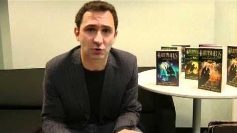 Jonathan Stroud discusses Bartimaeus books