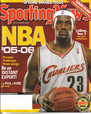 Sporting News LeBron