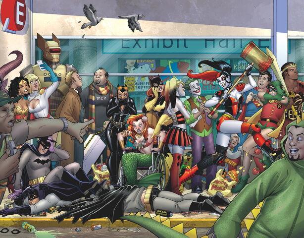 File:Harley Quinn Invades Comic Con International San Diego Vol 2-1 Cover-1 Teaser.jpg