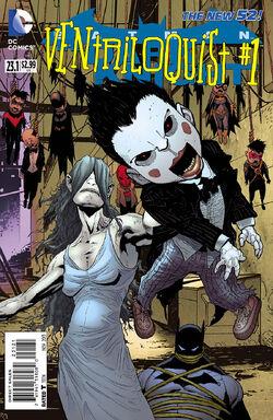 Batman The Dark Knight Vol 2-23.1 Cover-1