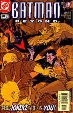 Batman Beyond v2 20 Cover