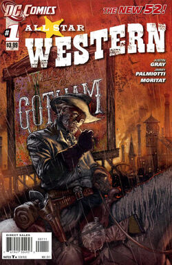 All Star Western Vol 3-1 Cover-1