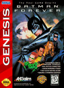 BatmanForever Genesis box art