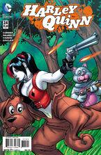 Harley Quinn Vol 2-24 Cover-2