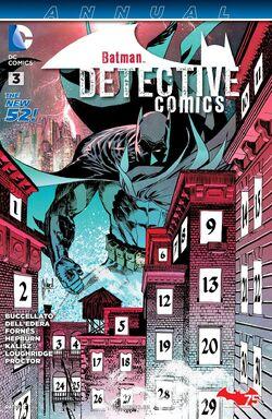 Detective Comics Annual Vol 2-3 Cover-1