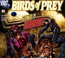 Birds of Prey Issue 89