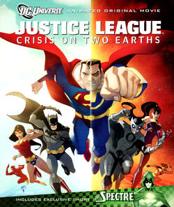JL Crisis on Two Earths DVD