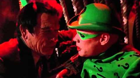 Batman Forever Two-Face and the Riddler meet