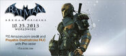 Deathstroke DLC poster