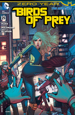Birds of Prey Vol 3-25 Cover-1