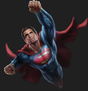 BvS superman-flight