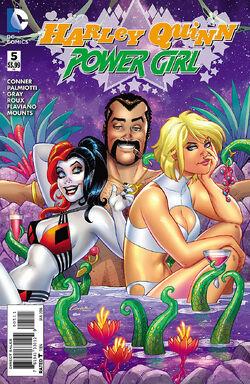 Harley Quinn Power Girl Vol 1-5 Cover-1