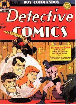 Detective Comics Vol 1-79 Cover-1
