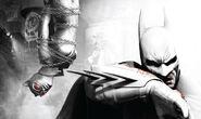 Batman Arkham City Cover Art by mgrimace