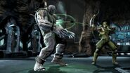 Green Arrow vs. Solomon Grundy