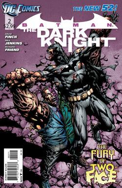 Batman The Dark Knight Vol 2-2 Cover-1